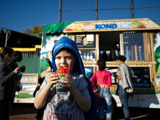 Kona Ice is just one of the food trucks participating in the Food Truck Mash-Up.