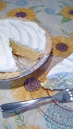 This week, Gloria shares a recipe for lemon pie.