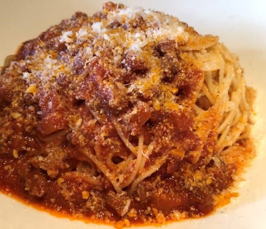 The Bolognese at Da Vinci Ristorante, Marco Island.