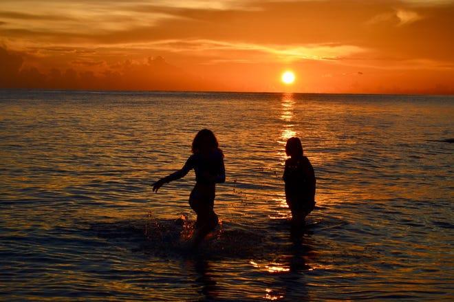 "Michael Duggan of Naples writes, ""Our family at Naples beach."""