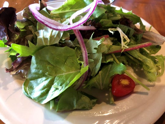 The house salad at Da Vinci Ristorante, Marco Island.