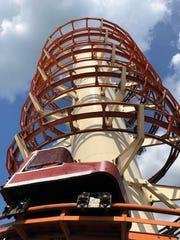 The Toboggan coaster at Little Amerricka.