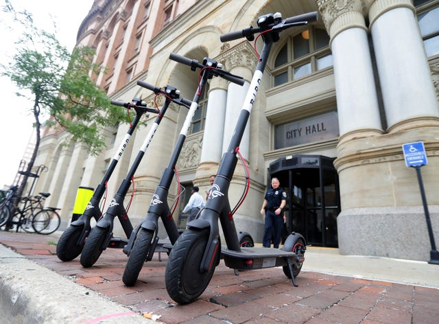 Gov  Tony Evers signs electric scooter bill into law