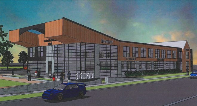 Lakeside Development proposes to build two 25,000-square-foot office buildings at 6907 W. Mequon Road.