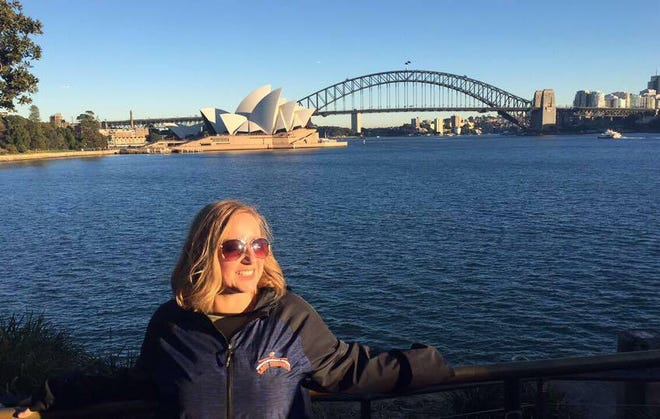 Cassie Bates, a geography teacher at Centennial High, has been chosen to participate in the 2018 Peace Teachers Program.