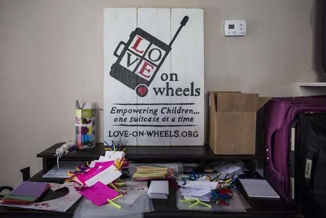 Love on Wheels is a nonprofit that assists children entering the foster care system.
