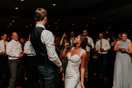 """I didn't have any question that they thought that was the most perfect wedding for them, and that made us happy,"" said Kim Koepsel, mother of the groom."
