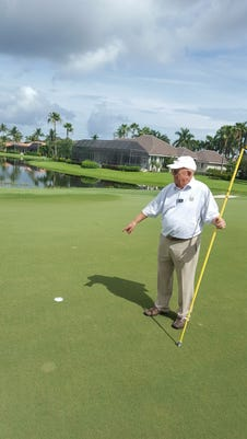 Dick Young golf rules official