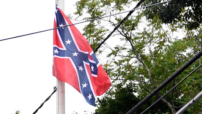 The South Carolina Secessionist Party is known for holding flag displays throughout the state.