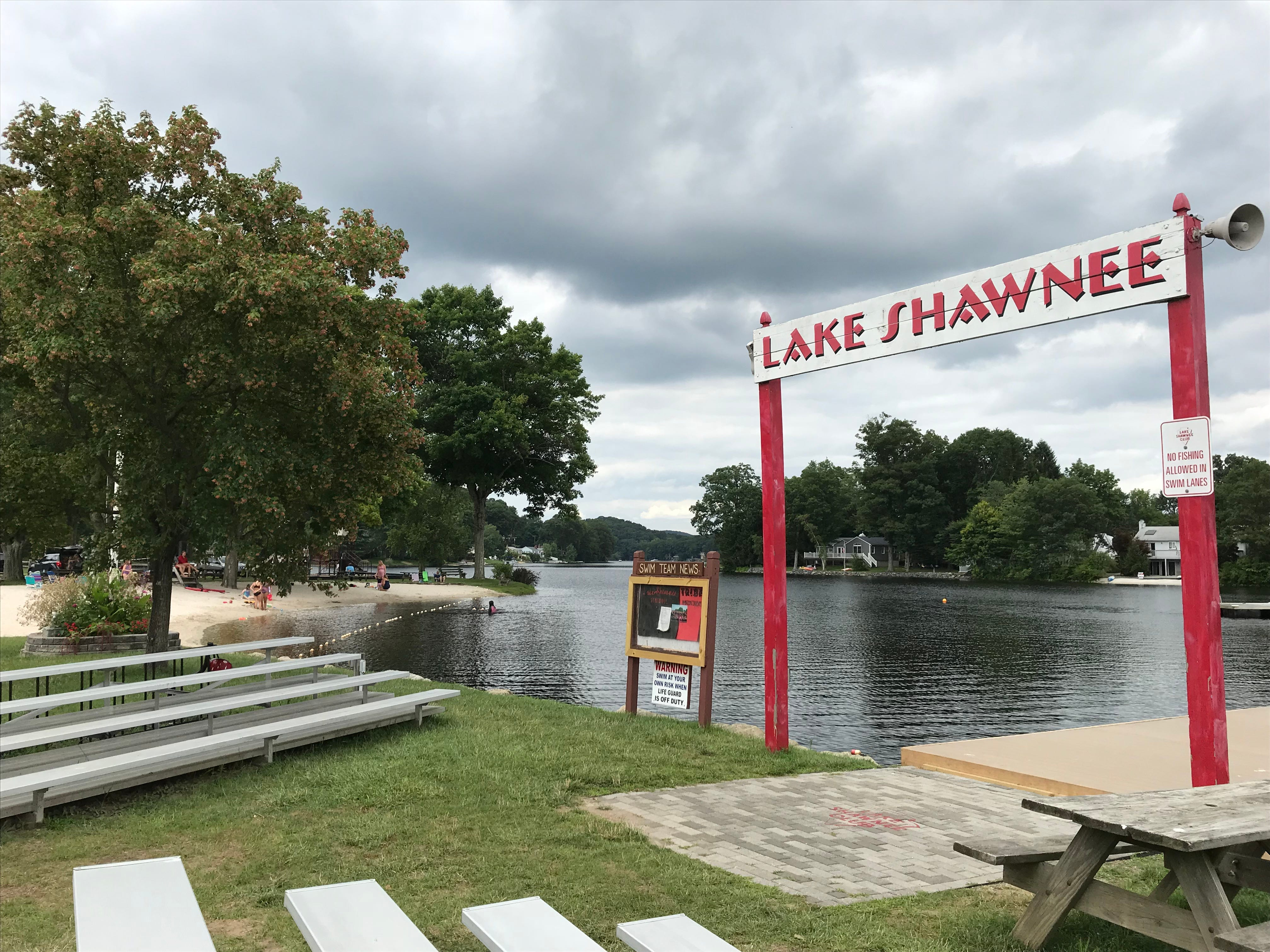 Lake Shawnee in Jefferson Township, N.J., as seen on July 31, 2018, was developed in the late 1940s by the Arthur D. Crane Company as a rustic private lake community.