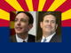 Republican candidates for governor,Doug Ducey and Ken Bennett .
