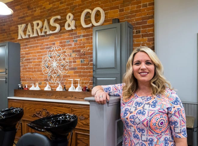 Shannon Karas opened the Karas & Co. salon at 307 Huron Ave., Port Huron, after working for several years on the north end of town.