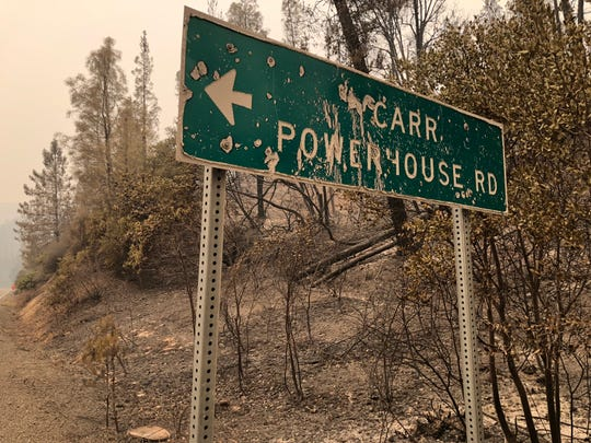 Officials named the fire after Carr Powerhouse Road, where they say a trailer with a flat tire created friction and sparks that eventually became the Carr Fire.