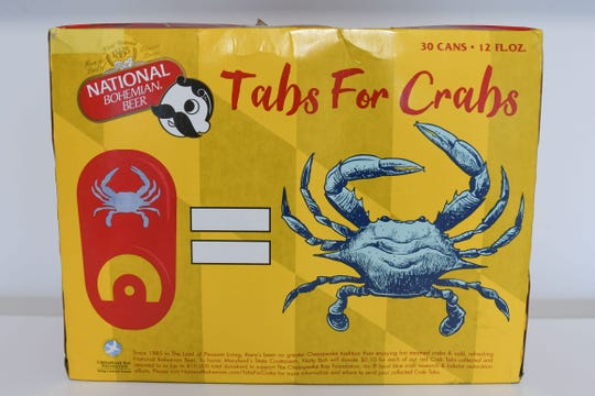 National Bohemian Beer Company announced Tuesday the roll out of its second annual summer Tabs for Crabs program. For each red, crab-etched can tab that is collected and returned before Oct. 1, National Bohemian will donate 10 cents to The Chesapeake Bay Foundation's local blue crab research and habitat restoration efforts, with a total maximum donation goal of $10,000, according to a news release.