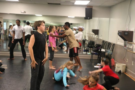 For the past two weeks,  35 Treasure Coast kids, ranging in age from 10 to 18, have spent their days training with professionals from CORE Dance, based out of Atlanta.