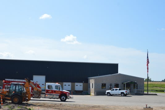 The Wausau Fire Department responded to a fire at DP Labs