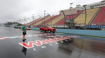 Take a GoPro ride with lohud.com Visual Journalist Mark Vergari, as he took his Honda CR-V for a ride around the Watkins Glen International race track.