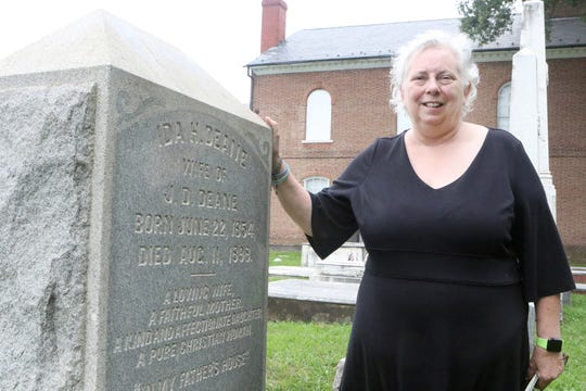 Ida H. Deane and her sister Mary Elizabeth Dunning were daughters of former Delaware Congressman John Pennington murdered when the jilted lover of Dunning's husband sent arsenic-laced chocolate candy through the mail. On a one-hour walking tour led by local history buff Jan Crumpley, the deaths of Deane and her sister will be commemorated.