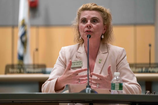 Kathleen Davies recently ran for state auditor, hoping to lead the office she was fired from in 2016.