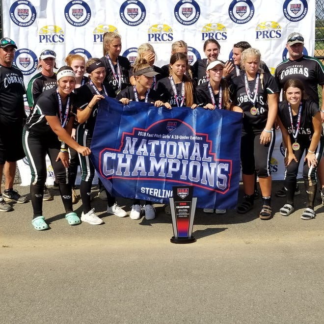 Delaware Cobras are the 2018 USA Softball Maryland-DC-Delaware State Champions, also making them the 2018 Fast Pitch Girls A 18-U Eastern National Champions.