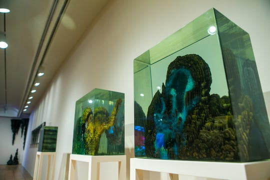 """Dustin Yellen's art is featured in the Brandywine River Museum of Art's exhibit """"Natural Wonders: the Sublime in Contemporary Art.'"""