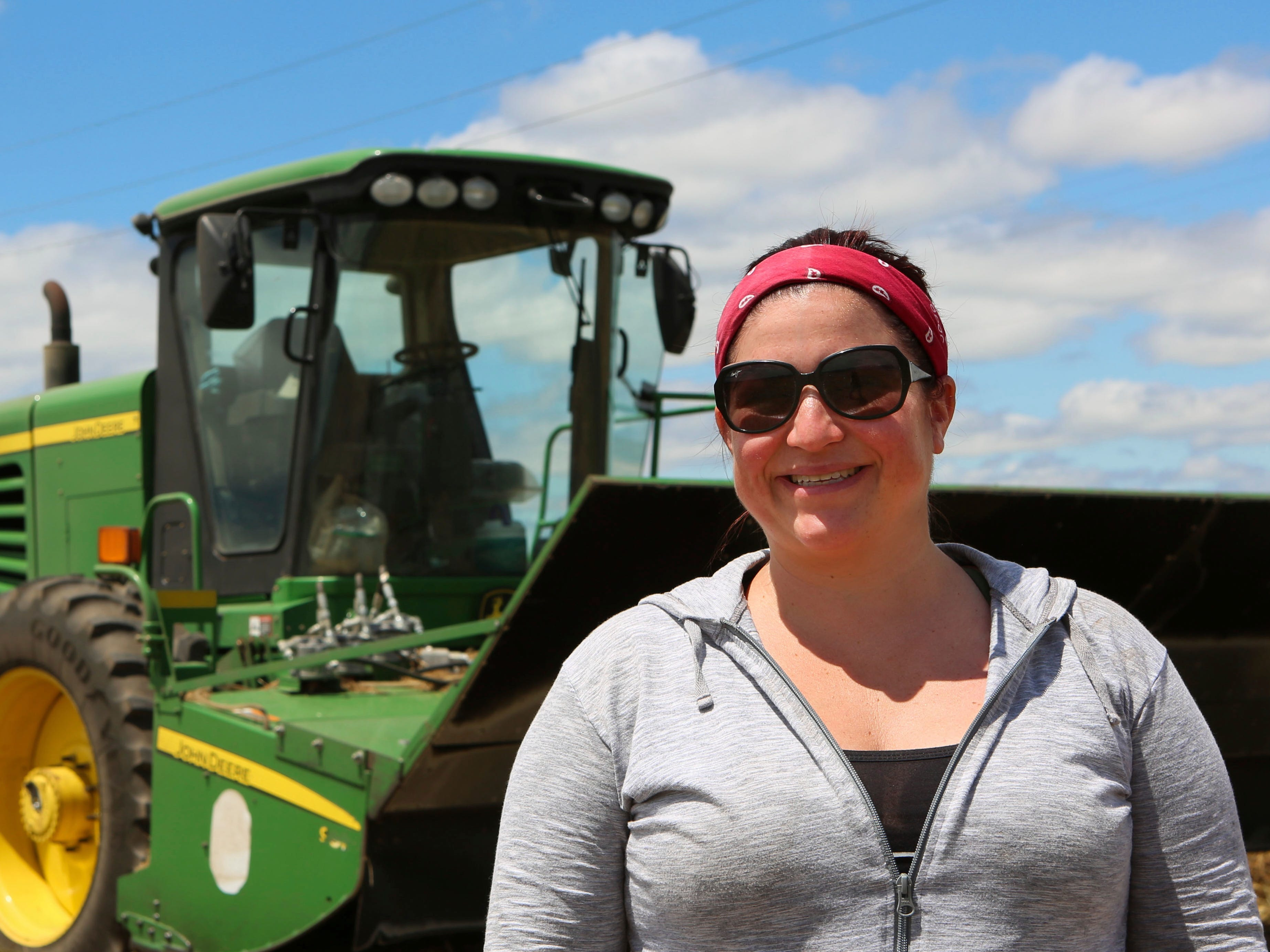 Eugene, Oregon woman returns to roots, find happiness in farm work