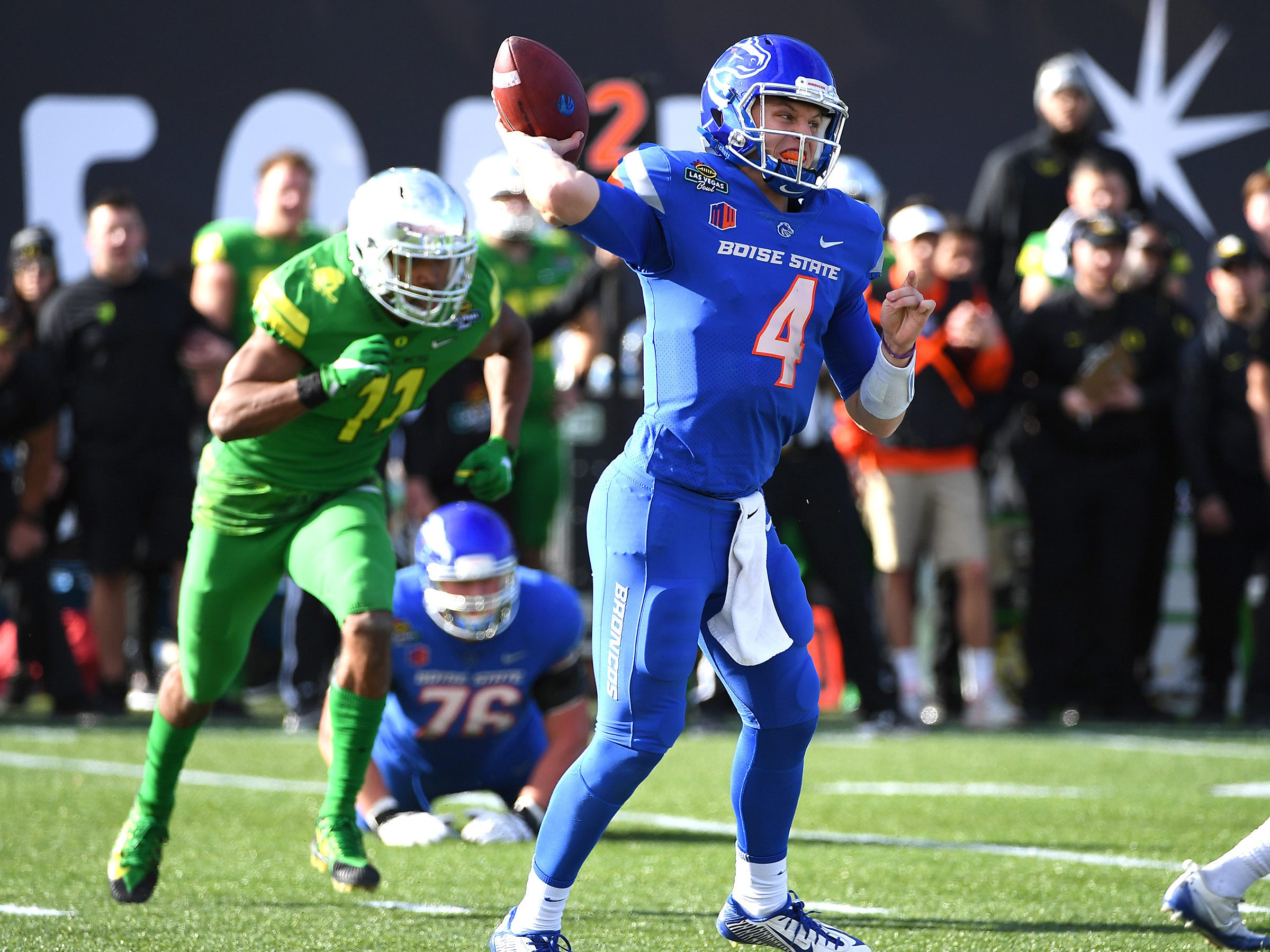 No. 22 Boise State Broncos (11-3 in 2017).