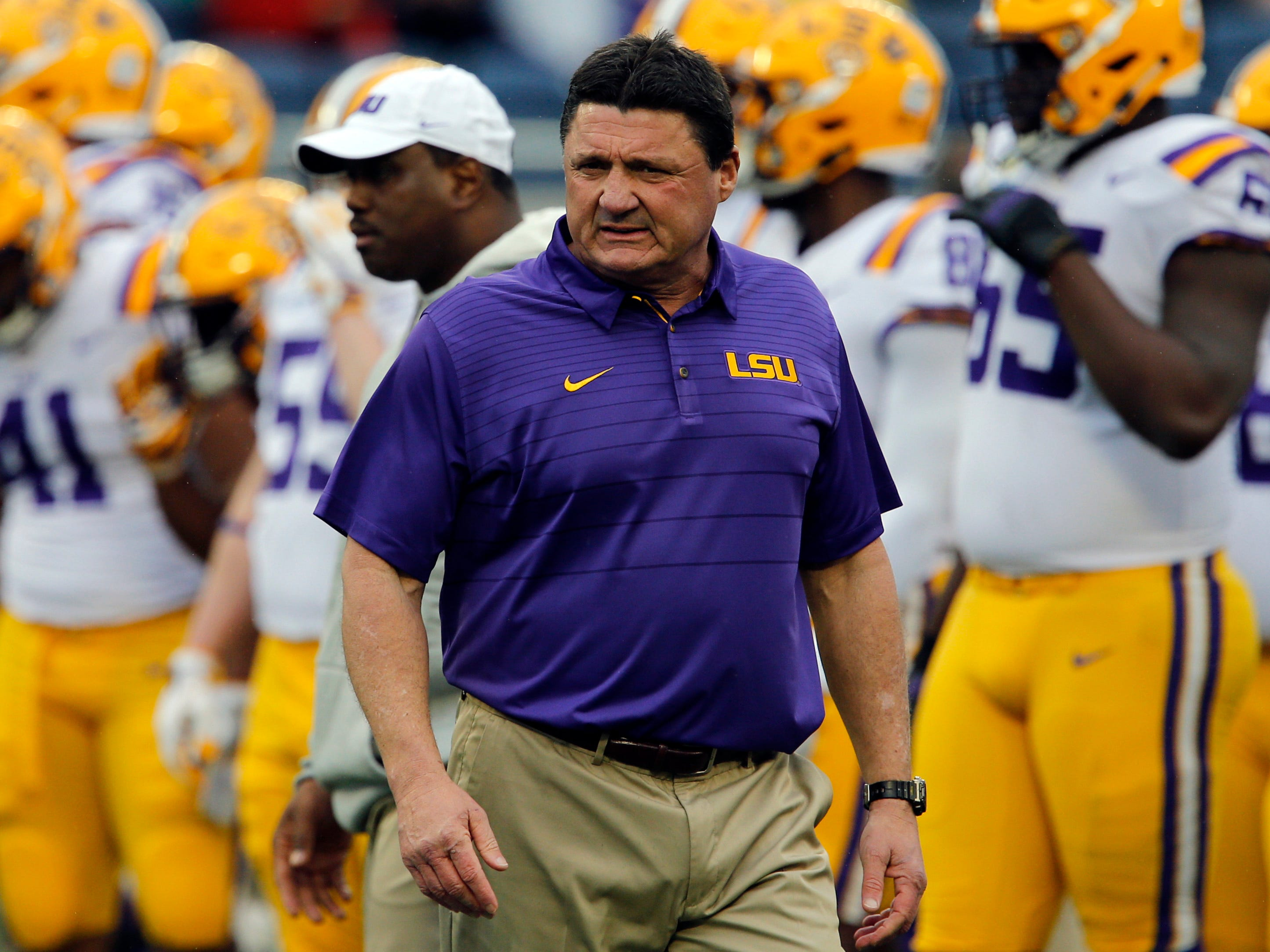No. 24 LSU Tigers (9-4 in 2017).