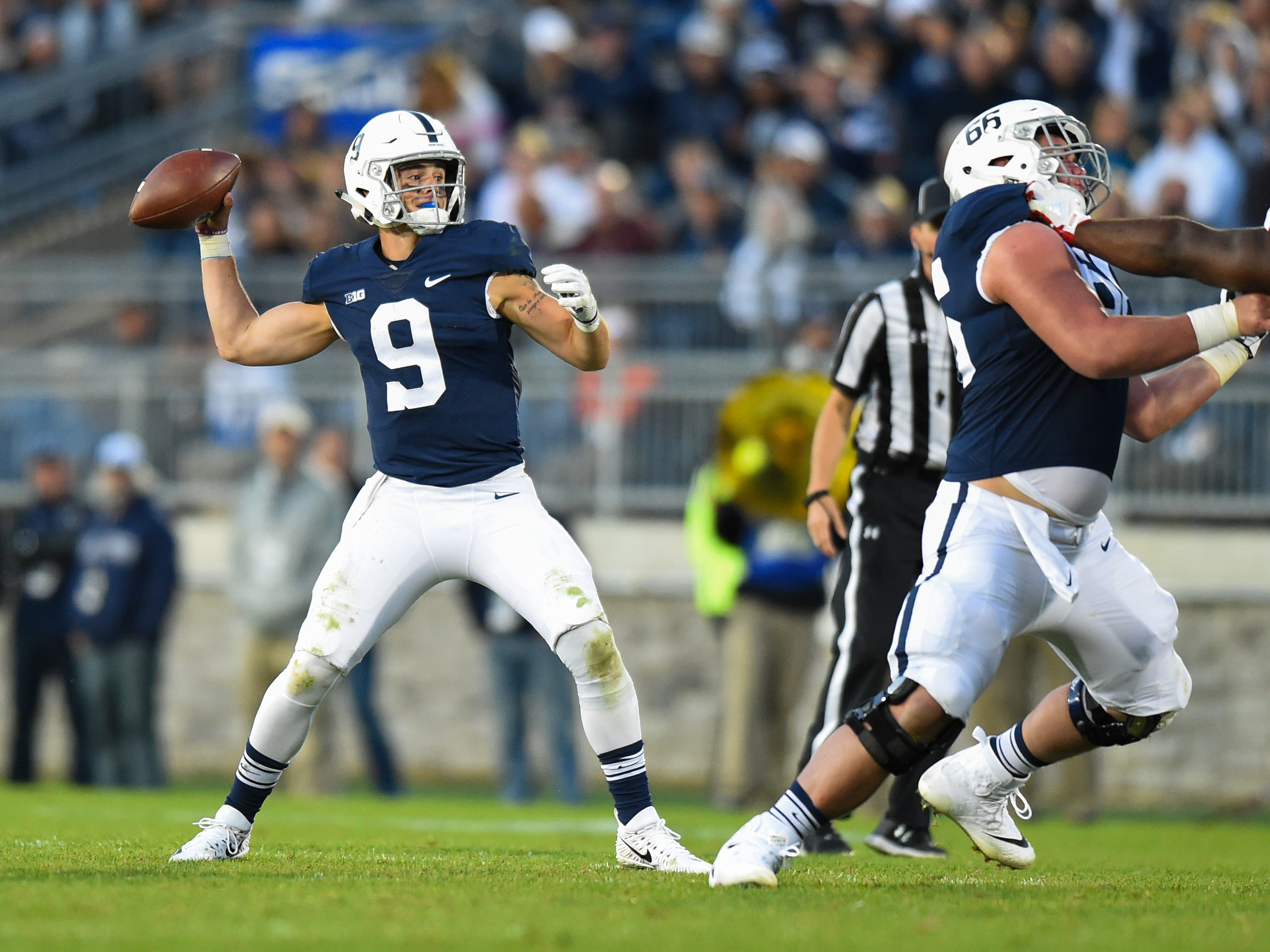 No. 9 Penn State Nittany Lions (11-2 in 2017).