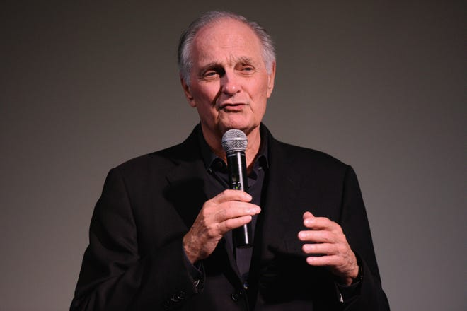 Actor Alan Alda speaks during 'Bridge Of Spies' Q&A during the 23rd Annual Hamptons International Film Festival on Oct. 12, 2015 in New York.