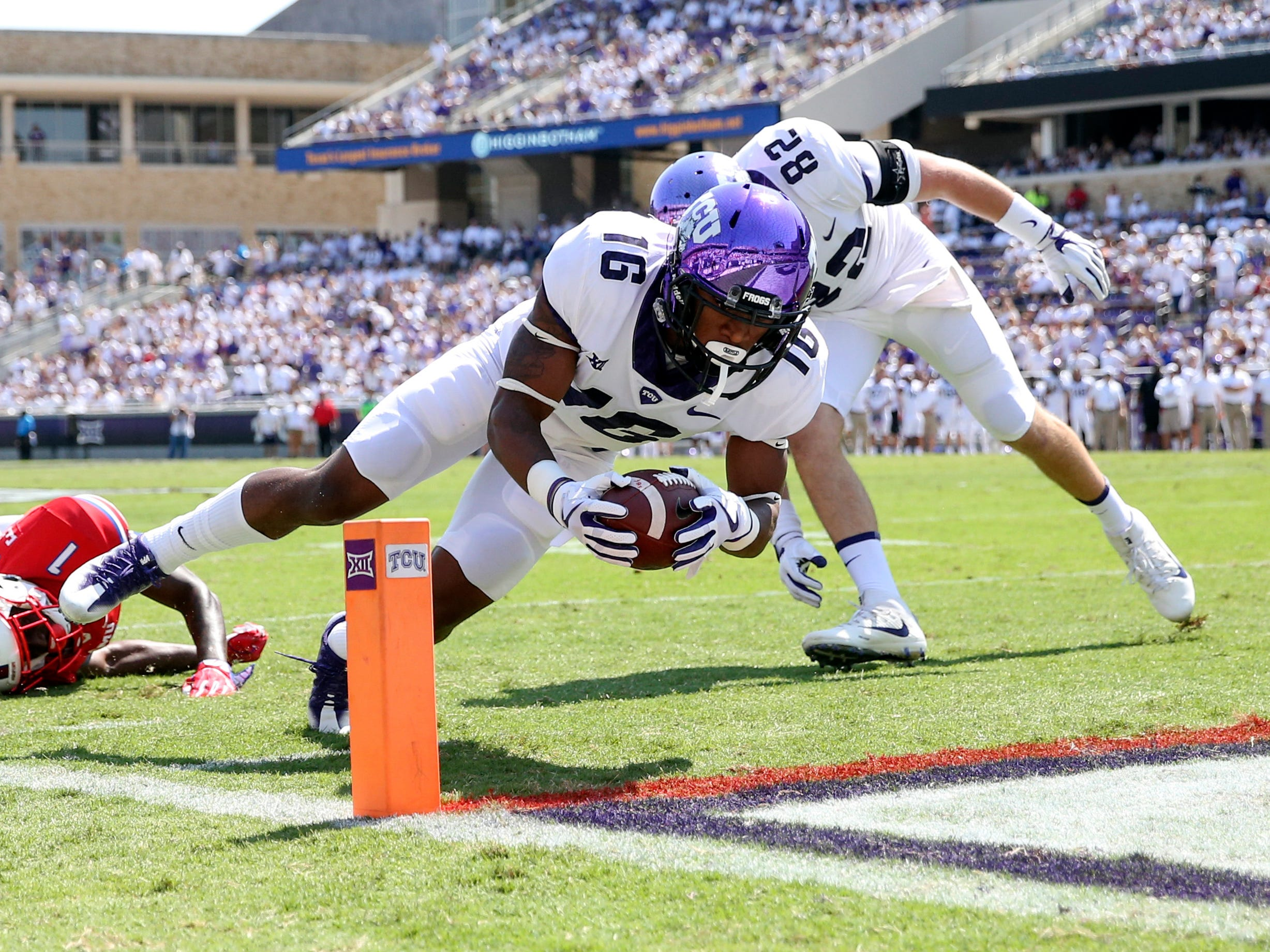 No. 16 TCU Horned Frogs (11-3 in 2017).