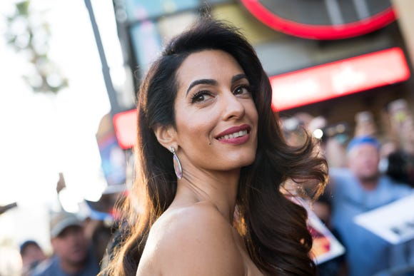 Amal Clooney does it again.