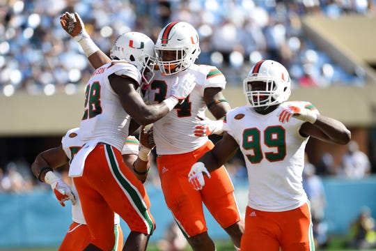 Miami (Fla.) will be looking to improve upon it's 10-3 season in 2017 when it reached the ACC title game for the first time.