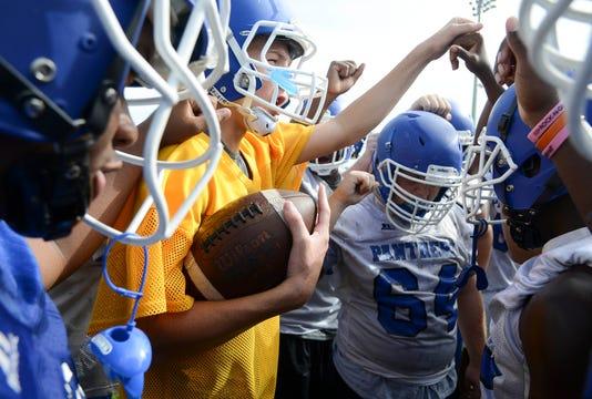High School Football Heritage High Football Practice