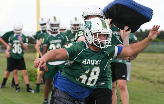 High School Football Viera High Football Practice
