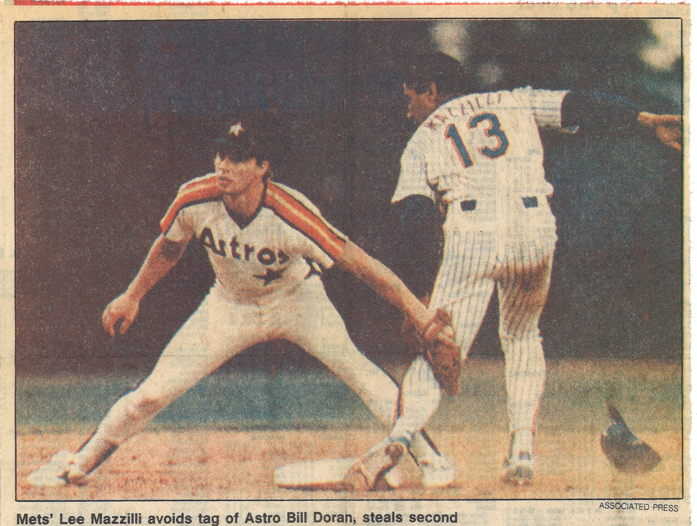 Burt Hooton didn't consider himself an old-timer at 37 after two years of retirement from the majors in this article from the Caller-Times on July 25, 1987.