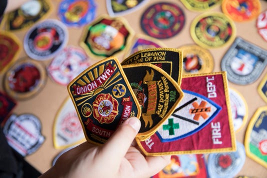 Fallen Firefighter Joe Patterson S Stepson Receives Patches From Across World For Birthday