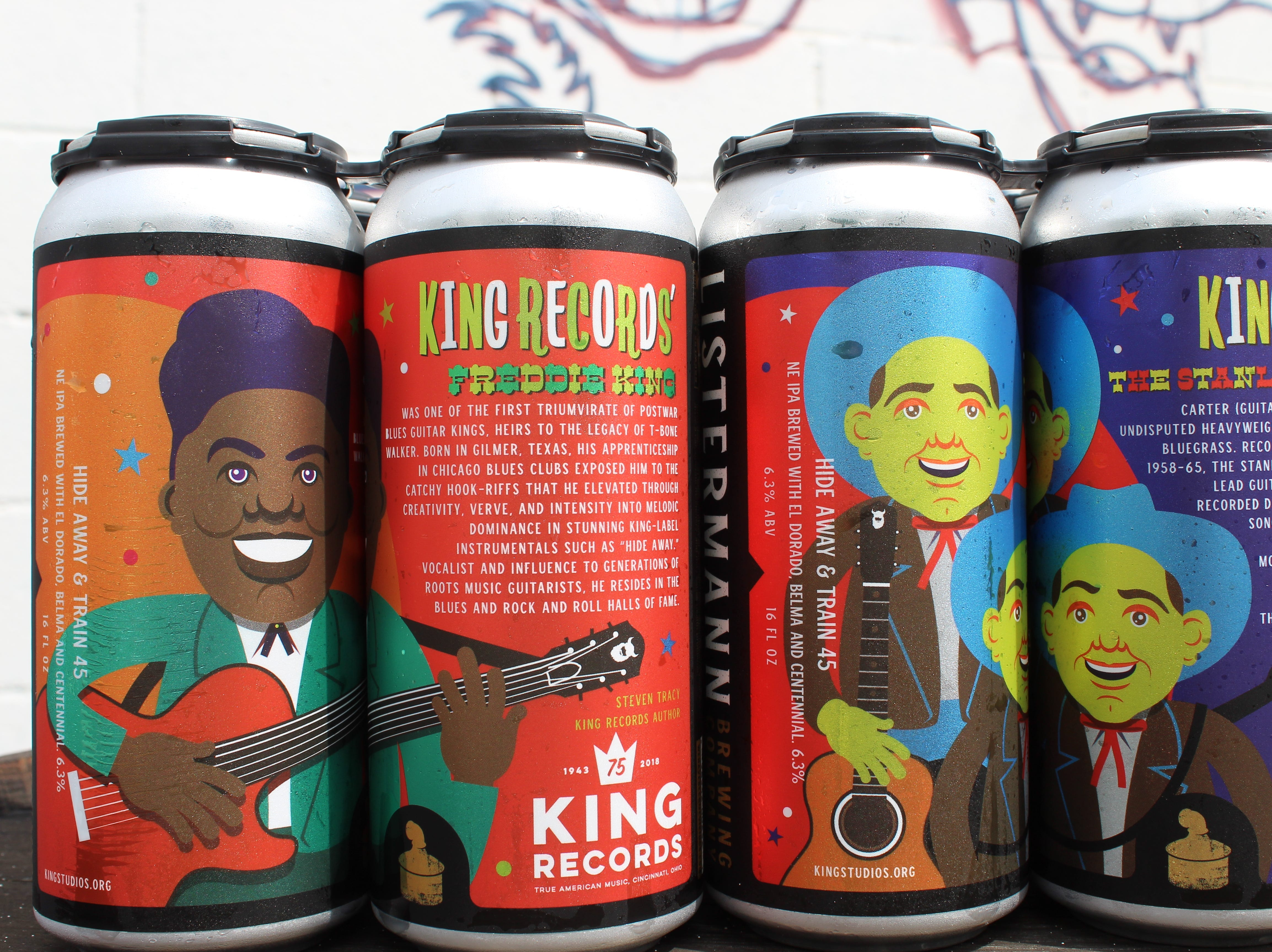 Listermann Brewing Company salutes Blues and Bluegrass music recorded in Cincinnati at King Records with a new beer collaboration
