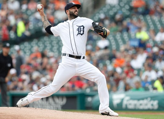 Mlb Cincinnati Reds At Detroit Tigers