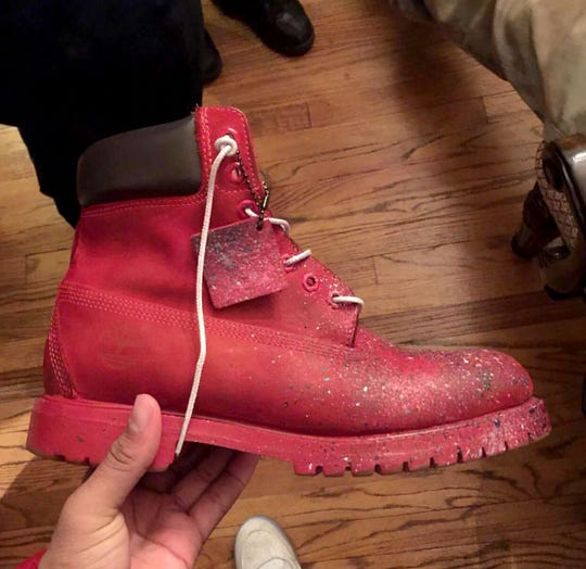 Tory Johnson, 18, of Detroit has a shoe detail business called TXRY CUSTOMS. The business began with a desire to recondition a pair of old, wheat-colored Timberland boots. He bought shoe paint and searched YouTube for tutorials about how to paint them.