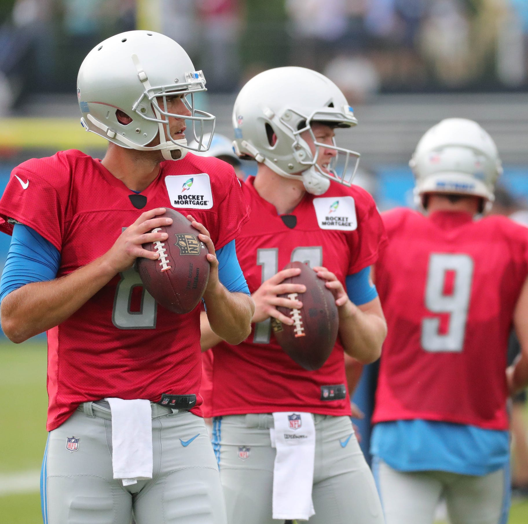Detroit Lions training camp observations: Who leads backup QB race?