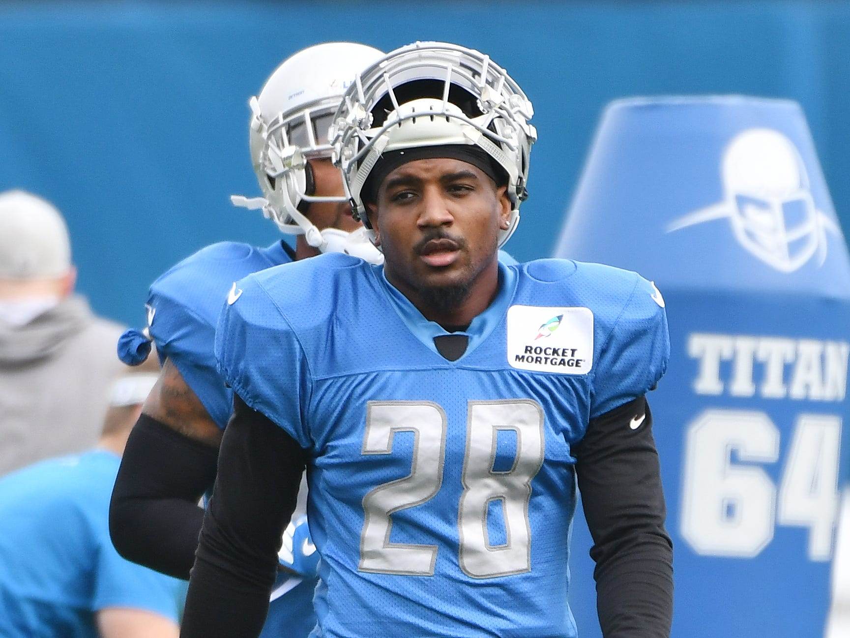 Lions safety Quandre Diggs.
