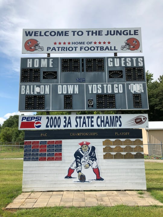Heritage Hills' football stadium received a makeover this offseason.