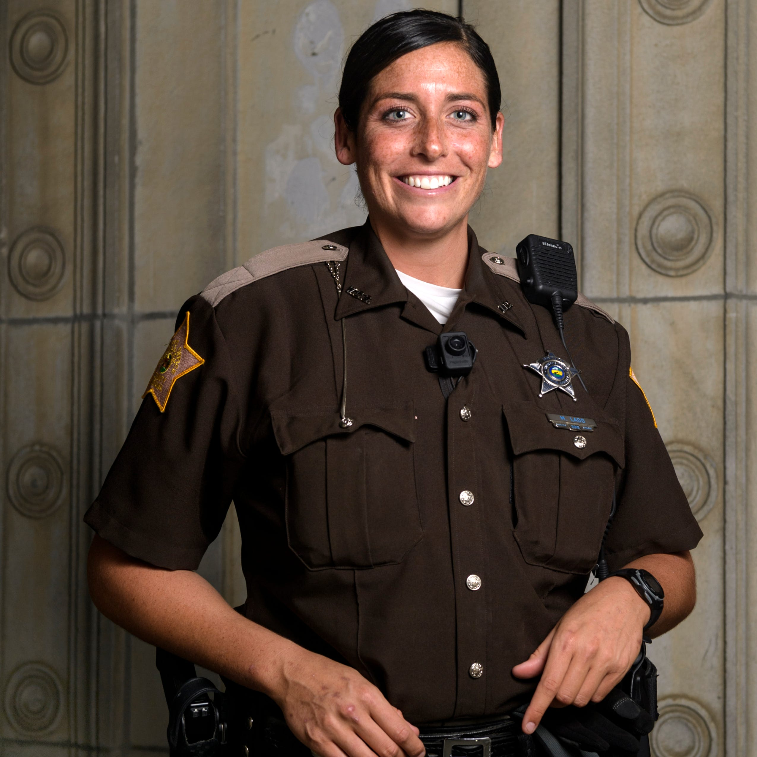 Mallory Ladd, who led Memorial to state title, now works as a sheriff's deputy