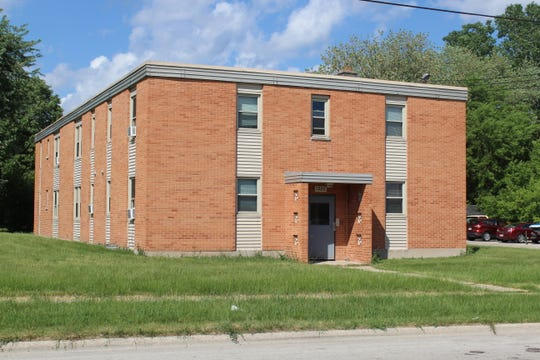Green Bay Packers defensive end Willie Davis  lived in this apartment building at 1232 Lore Lane in Green Bay.