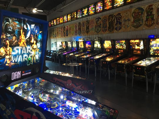 Titletown Pinball features movie-themed pinball machines for Star Wars, Game of Thrones, Tron, Star Trek, Indiana Jones and more.