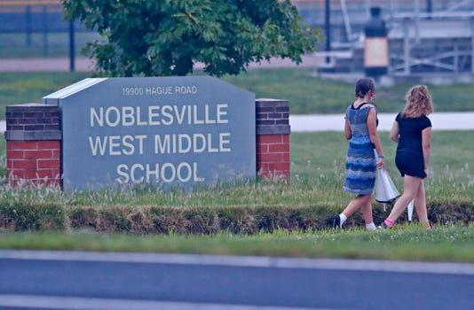 Noblesville West Middle School Starts Back To School