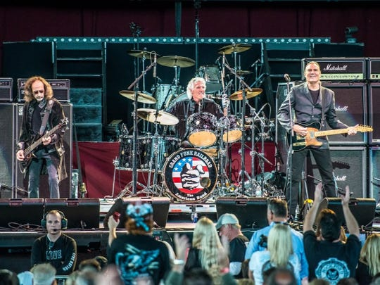 Grand Funk Railroad will perform Aug. 15 at the Indiana State Fair.