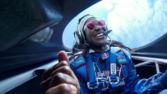 """Bastketball is fun, """"this is scary,"""" Catchings said of her flight."""