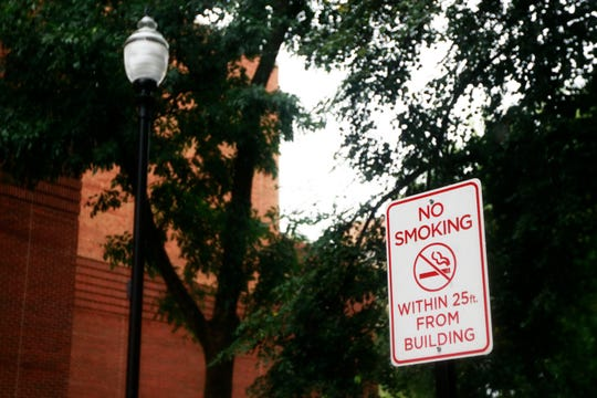 The University of Tennessee in Knoxville launched its smoke-free campus policy on Aug. 1, 2018.